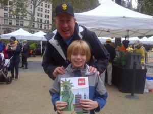 Seth with LEGO Master Builder Dan.