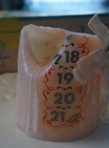 milestone candle
