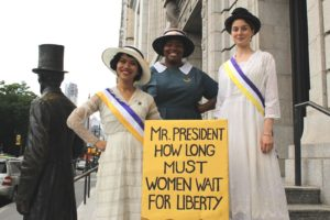 NYHistMarchwiththeSuffragists