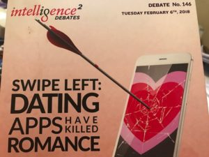dating apps killing romance