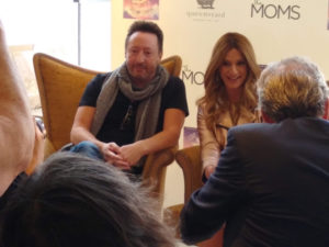 Julian Lennon with Denise Albert (The Moms)
